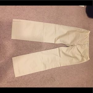 CROPPED KHAKI PANTS GOOD CONDITION